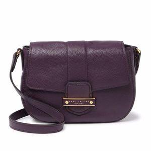 Marc Jacobs Messenger Bag Traveler GRAPE Purple